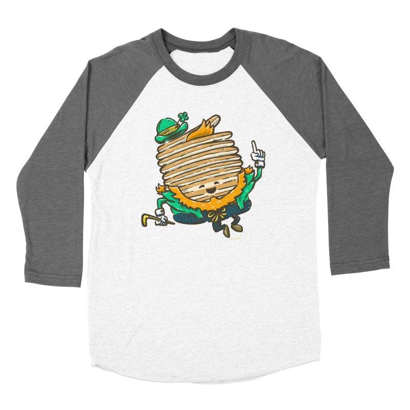 St Patrick Cakes Men's Baseball Triblend Longsleeve T-Shirt by nickv47