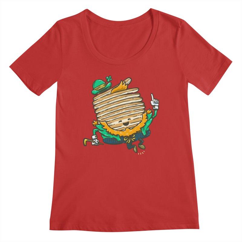 St Patrick Cakes Women's Regular Scoop Neck by nickv47