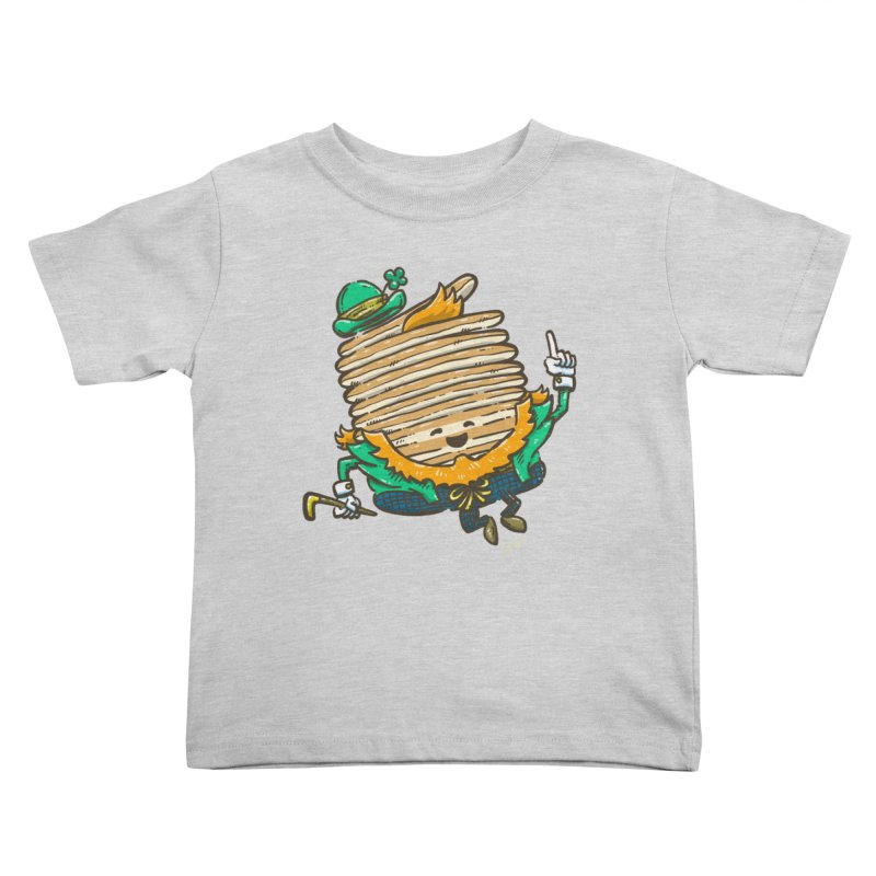 St Patrick Cakes Kids Toddler T-Shirt by nickv47