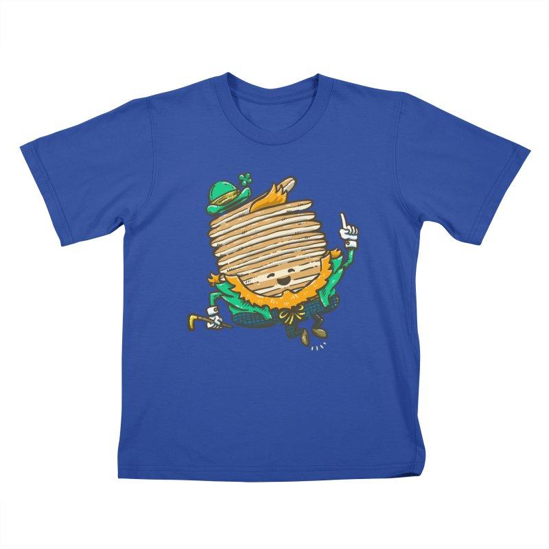St Patrick Cakes Kids T-Shirt by nickv47