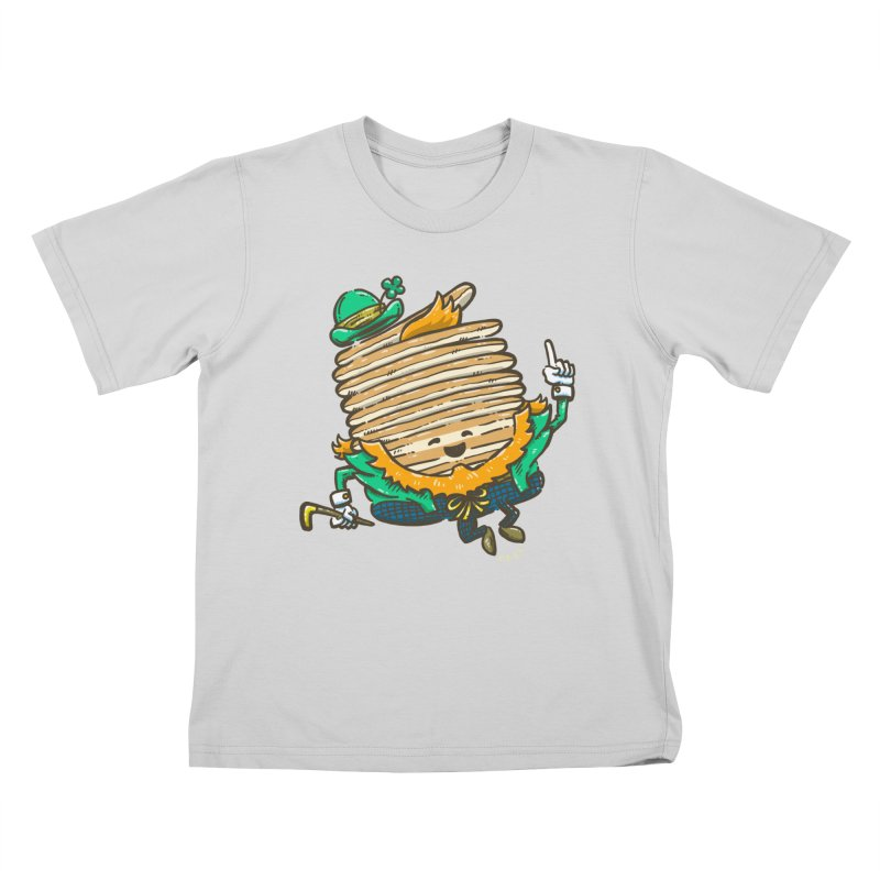 St Patrick Cakes Kids T-Shirt by nickv47