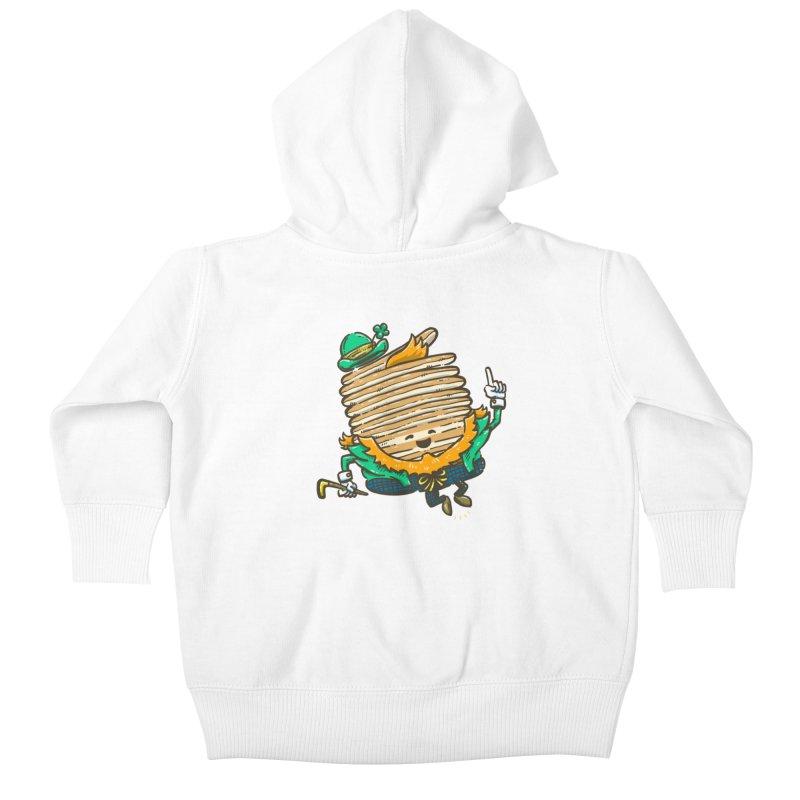 St Patrick Cakes Kids Baby Zip-Up Hoody by nickv47