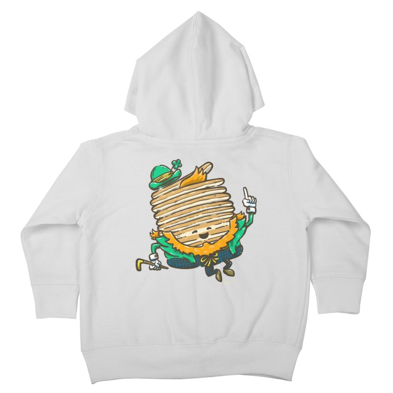 St Patrick Cakes Kids Toddler Zip-Up Hoody by nickv47