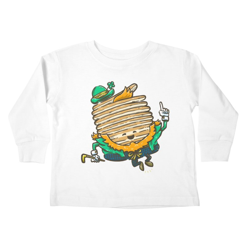 St Patrick Cakes Kids Toddler Longsleeve T-Shirt by nickv47