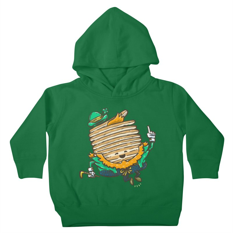 St Patrick Cakes Kids Toddler Pullover Hoody by nickv47