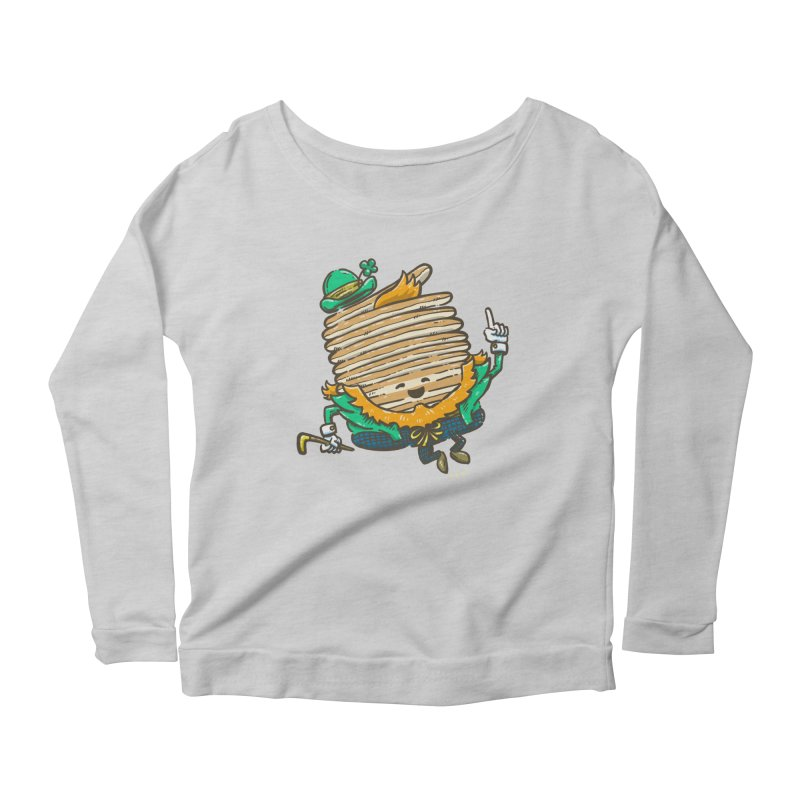 St Patrick Cakes Women's Scoop Neck Longsleeve T-Shirt by nickv47
