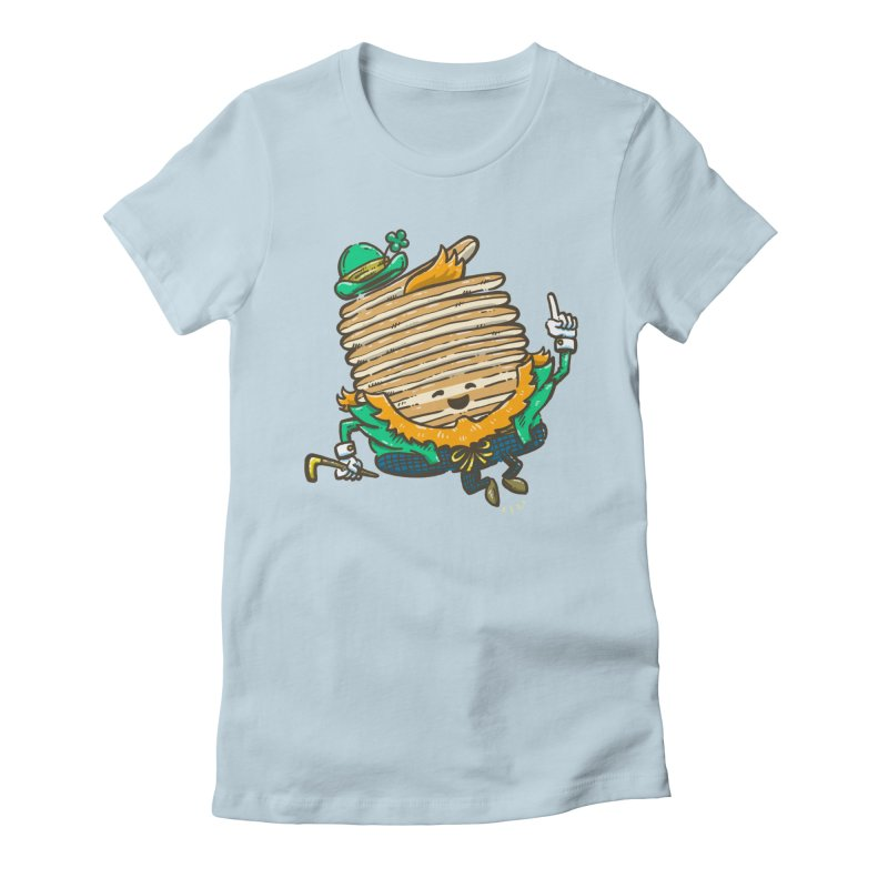 St Patrick Cakes Women's Fitted T-Shirt by nickv47