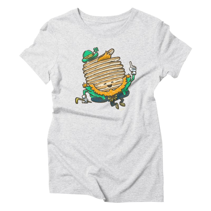 St Patrick Cakes Women's Triblend T-Shirt by nickv47