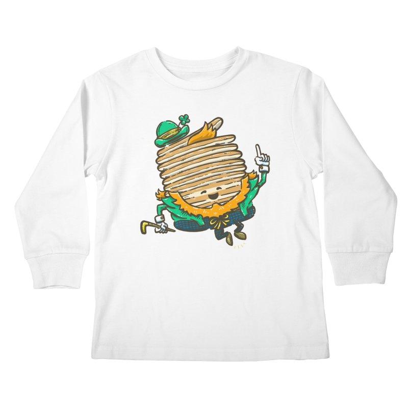 St Patrick Cakes Kids Longsleeve T-Shirt by nickv47