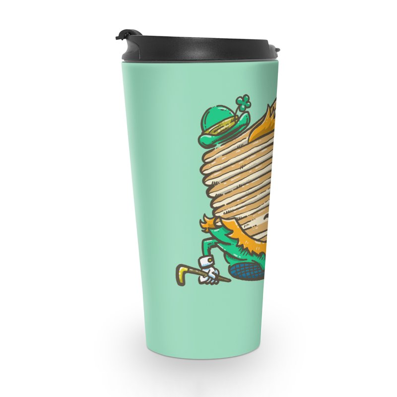 St Patrick Cakes Accessories Travel Mug by nickv47