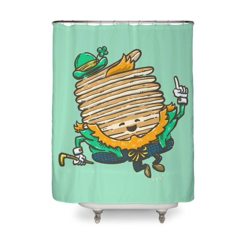 St Patrick Cakes Home Shower Curtain by nickv47