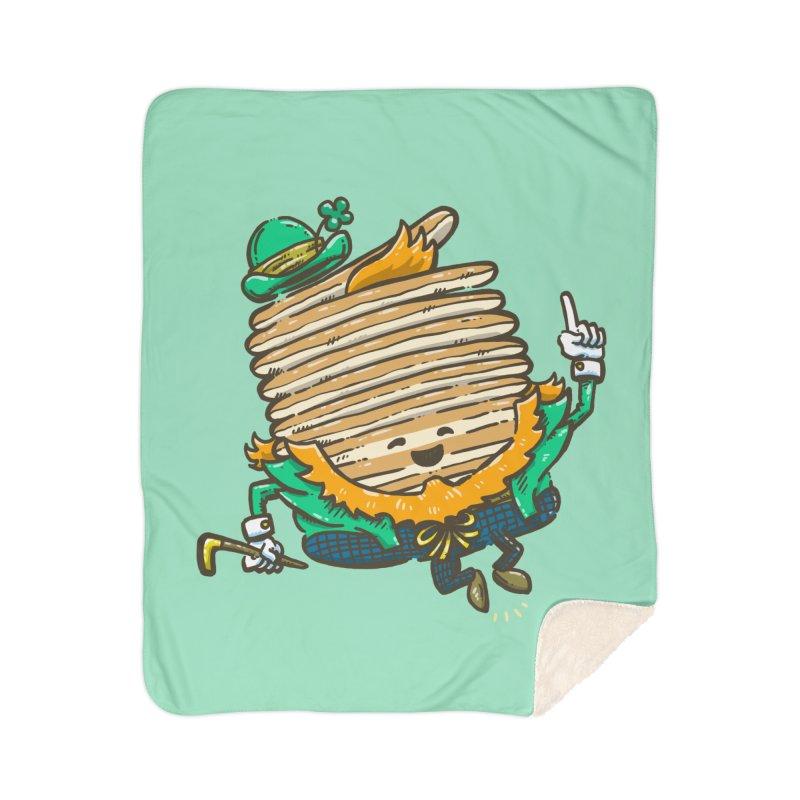 St Patrick Cakes Home Sherpa Blanket Blanket by nickv47