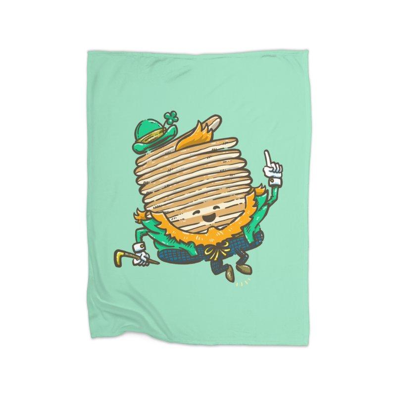 St Patrick Cakes Home Fleece Blanket Blanket by nickv47