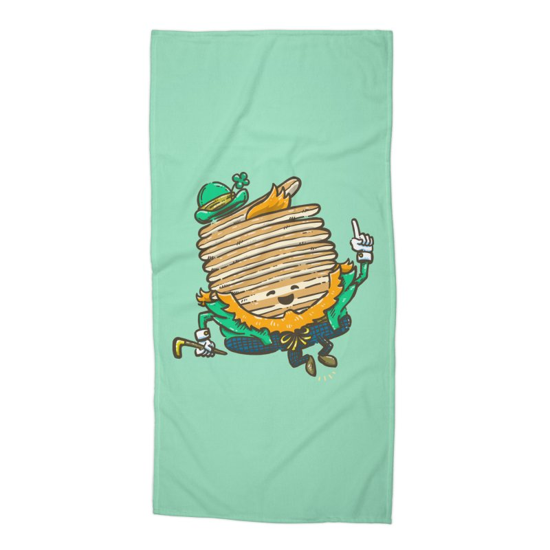 St Patrick Cakes Accessories Beach Towel by nickv47