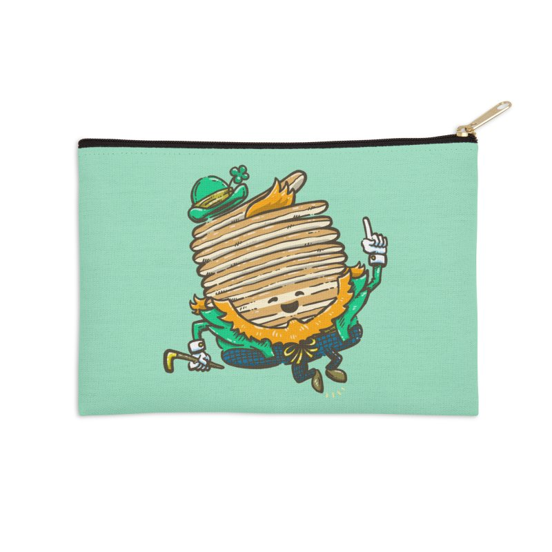 St Patrick Cakes Accessories Zip Pouch by nickv47