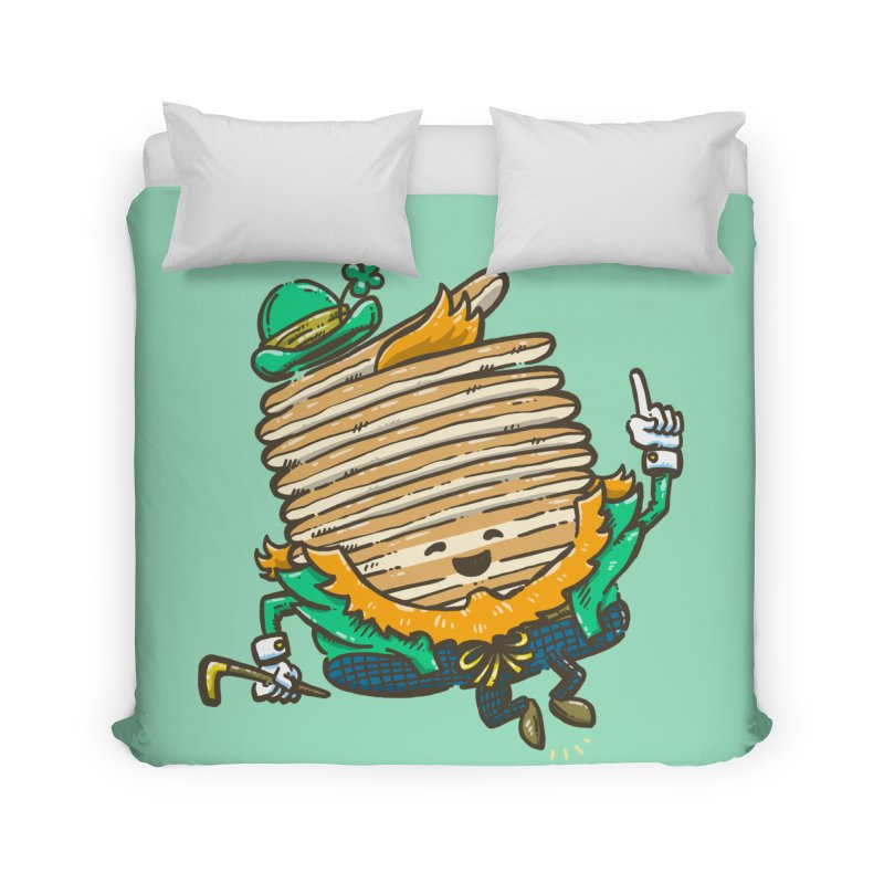 St Patrick Cakes Home Duvet by nickv47
