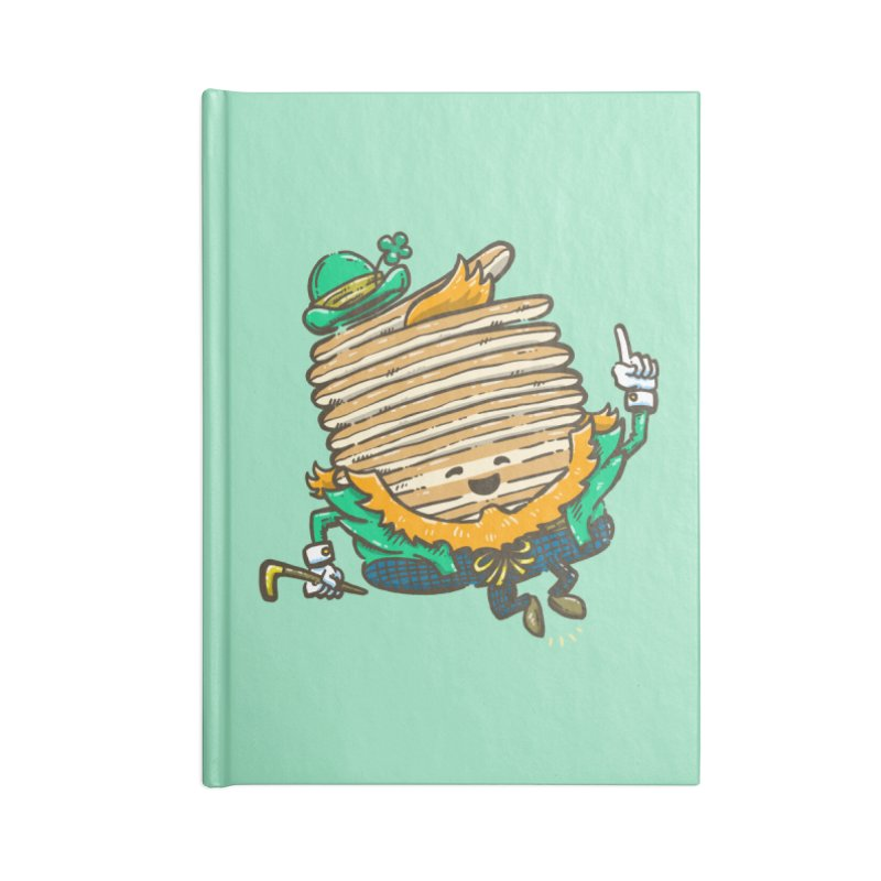 St Patrick Cakes Accessories Lined Journal Notebook by nickv47