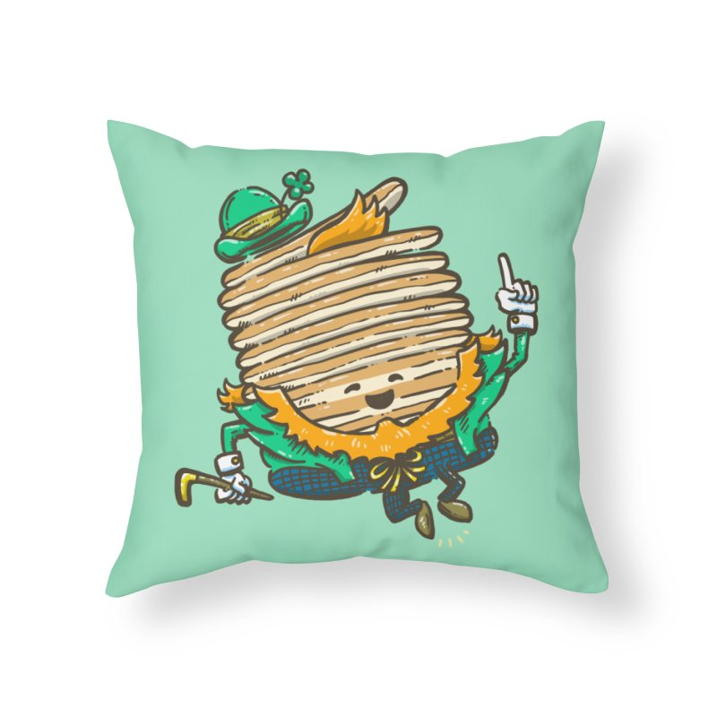 St Patrick Cakes Home Throw Pillow by nickv47