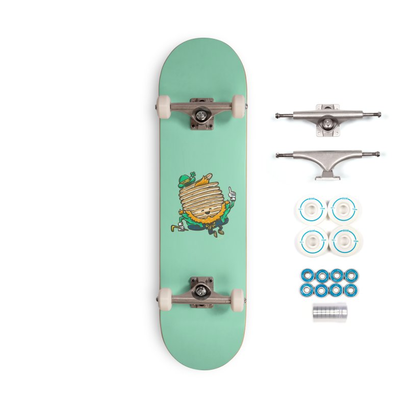 St Patrick Cakes Accessories Complete - Basic Skateboard by nickv47