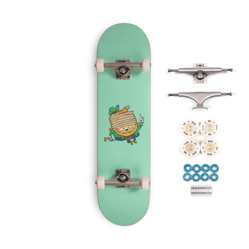 St Patrick Cakes Accessories Skateboard by nickv47