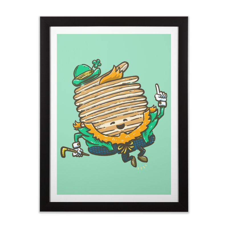 St Patrick Cakes Home Framed Fine Art Print by nickv47