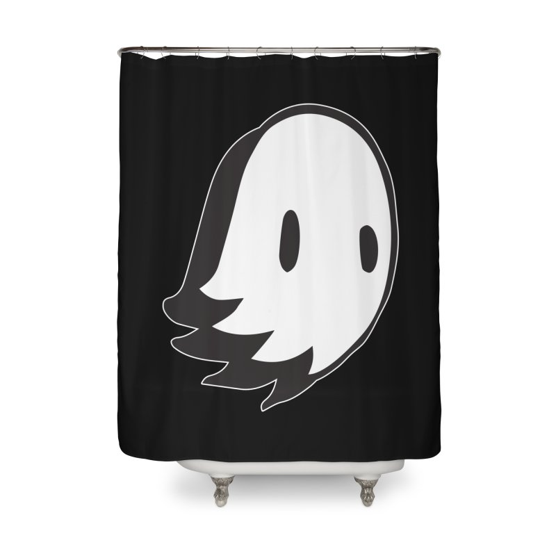 Ghost Home Shower Curtain by Nicky Davis Threadless Shop