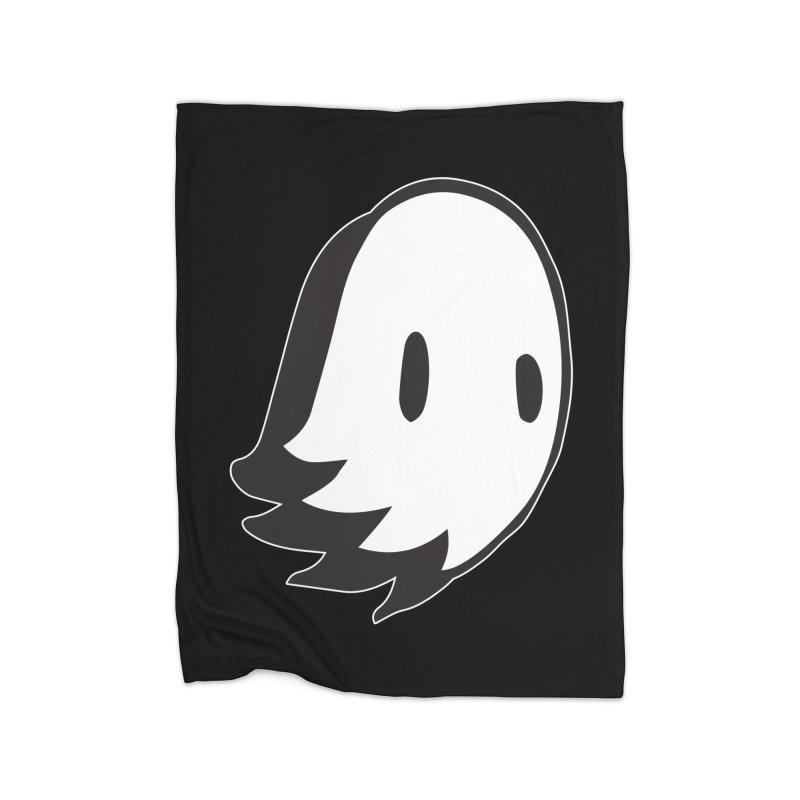 Ghost Home Fleece Blanket Blanket by Nicky Davis Threadless Shop