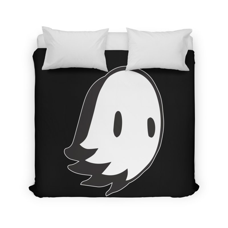 Ghost Home Duvet by Nicky Davis Threadless Shop