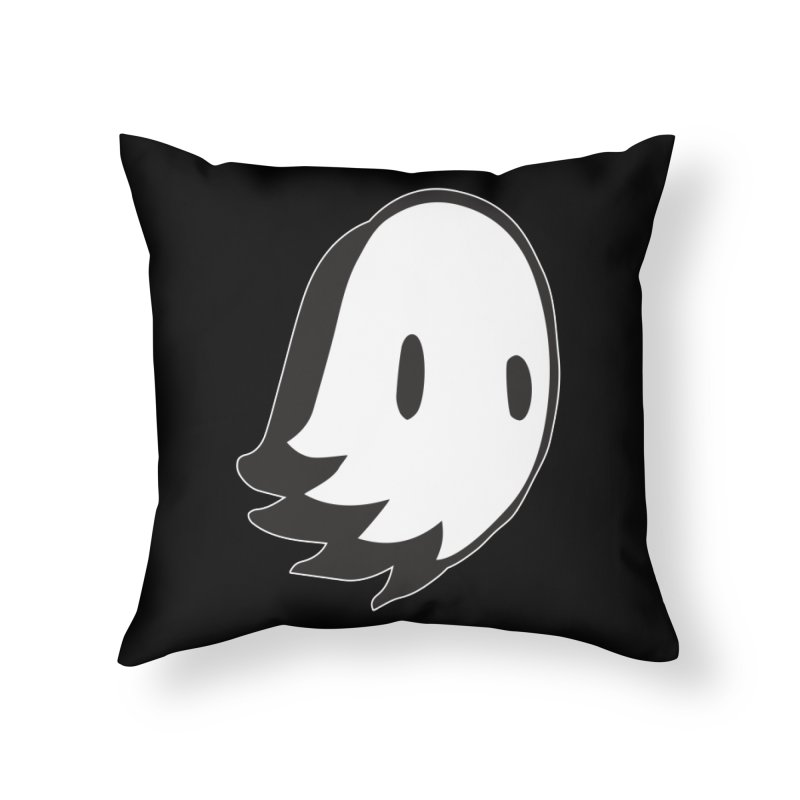 Ghost Home Throw Pillow by Nicky Davis Threadless Shop