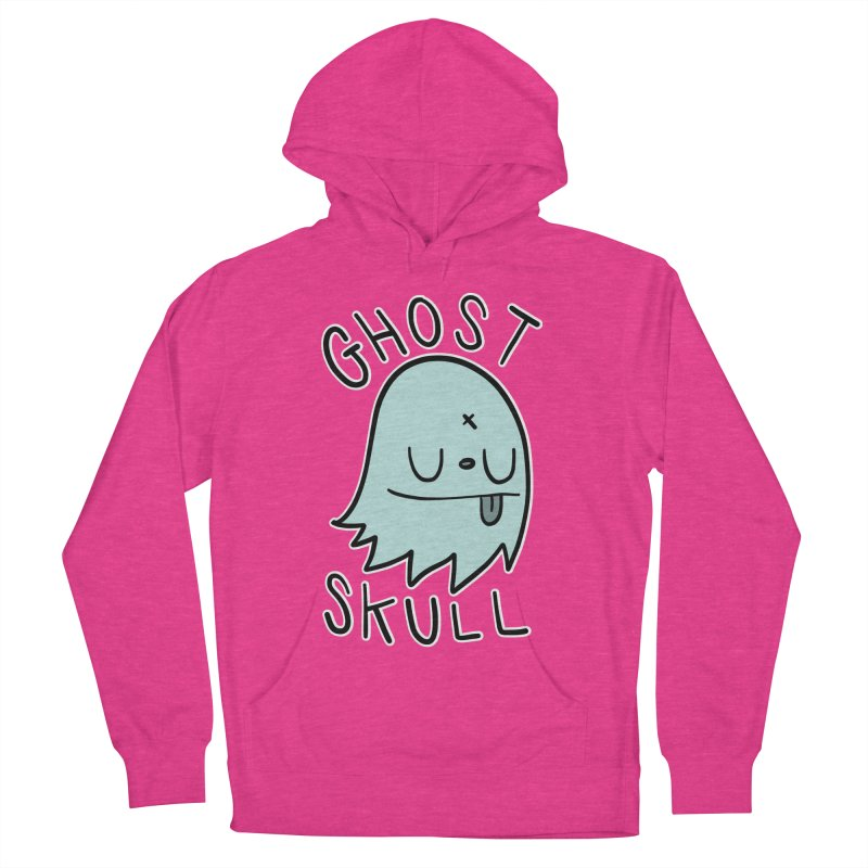 Ghost Skull Minty Fresh Women's French Terry Pullover Hoody by Nicky Davis Threadless Shop