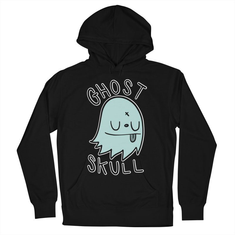 Ghost Skull Minty Fresh Men's French Terry Pullover Hoody by Nicky Davis Threadless Shop