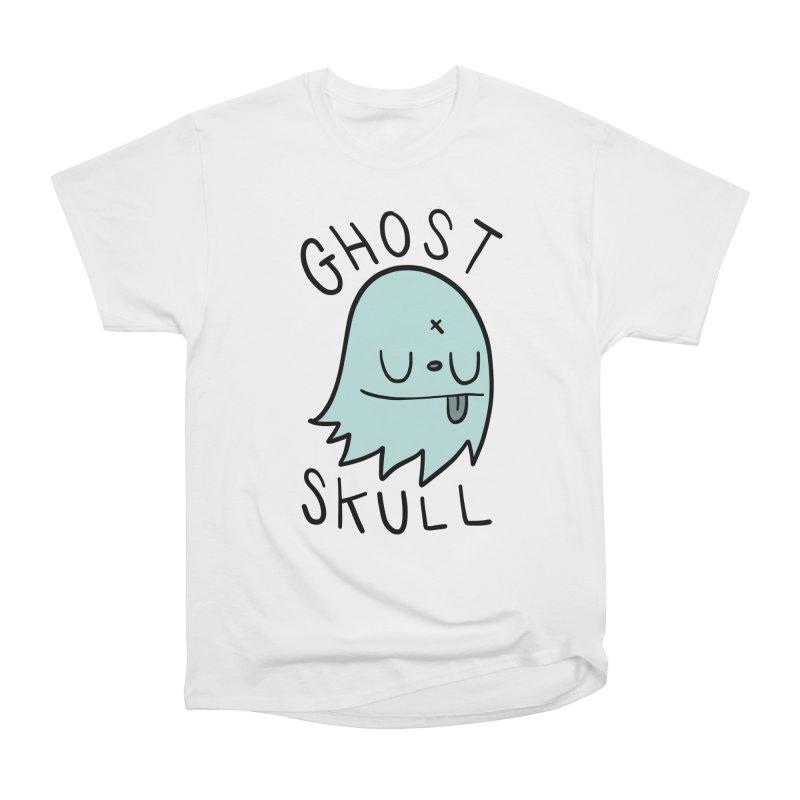 Ghost Skull Minty Fresh Men's Heavyweight T-Shirt by Nicky Davis Threadless Shop
