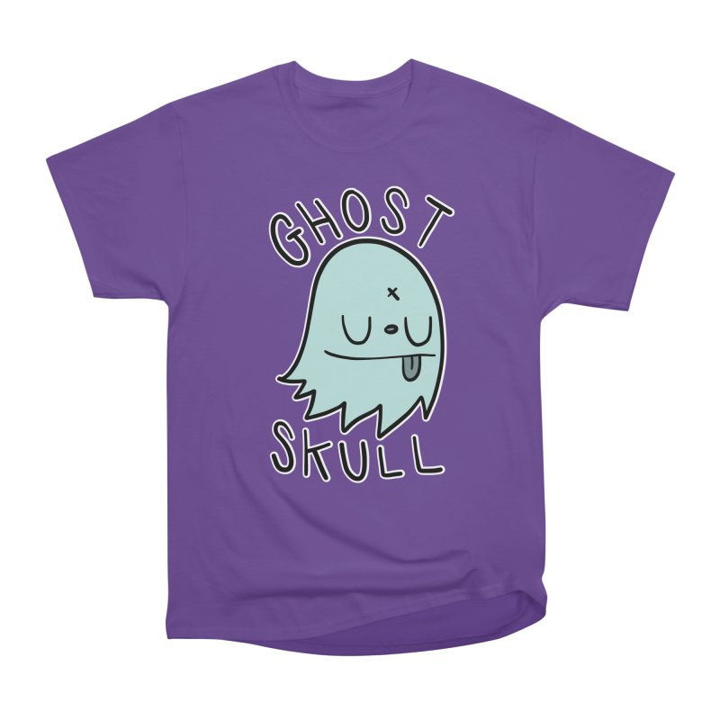 Ghost Skull Minty Fresh Men's Heavyweight T-Shirt by Nicky Davis Threadless Shop