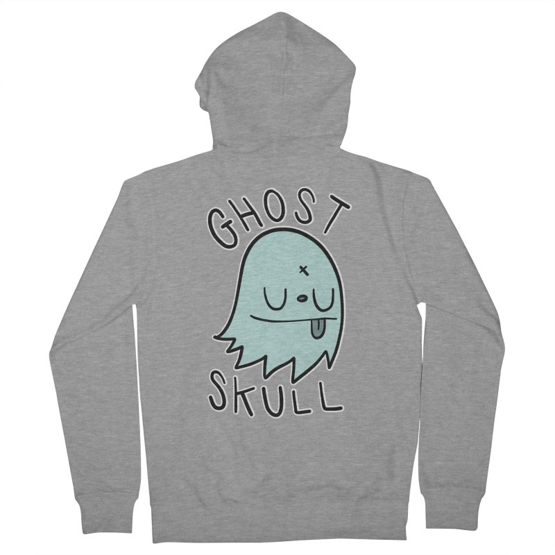 Ghost Skull Minty Fresh Women's French Terry Zip-Up Hoody by Nicky Davis Threadless Shop