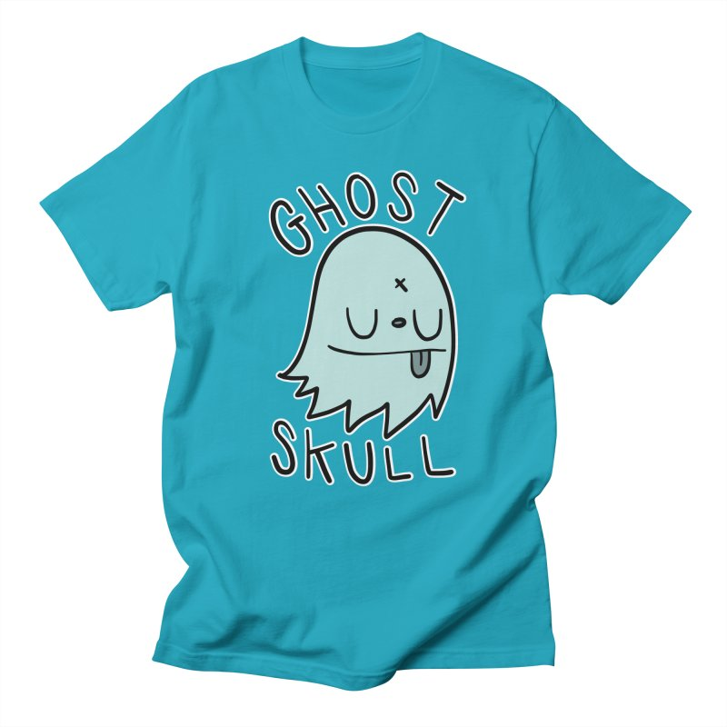 Ghost Skull Minty Fresh Men's Regular T-Shirt by Nicky Davis Threadless Shop