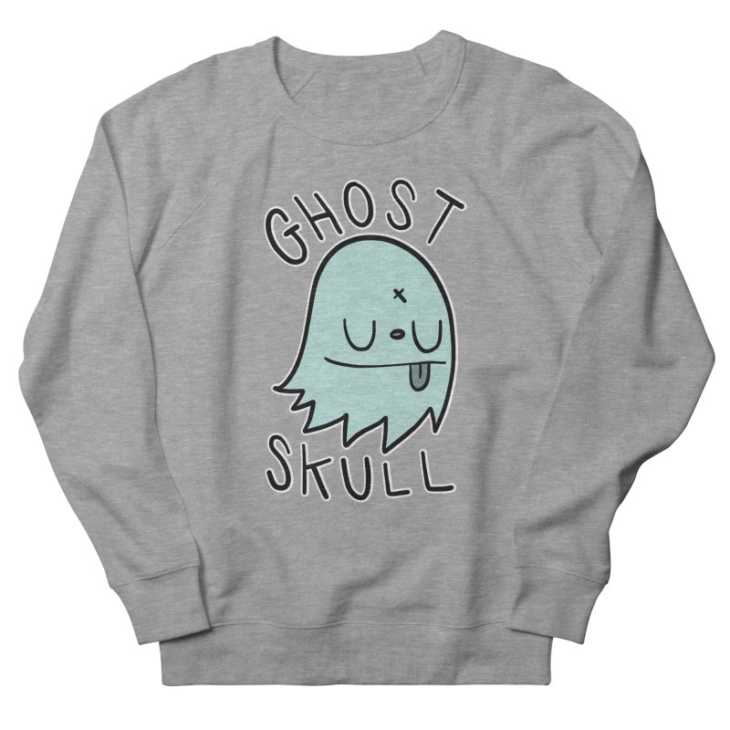 Ghost Skull Minty Fresh Women's French Terry Sweatshirt by Nicky Davis Threadless Shop