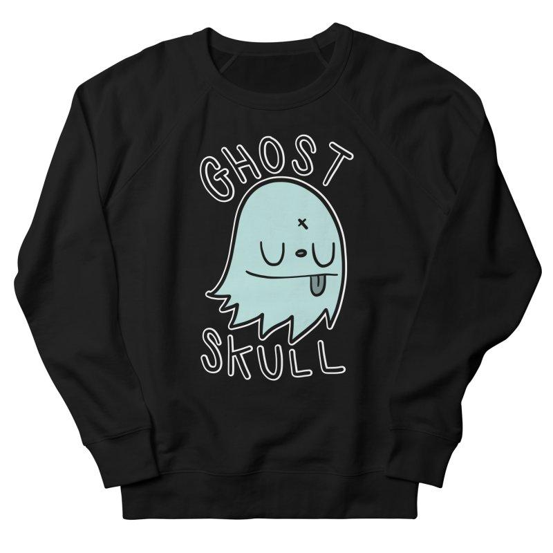 Ghost Skull Minty Fresh Women's French Terry Sweatshirt by Nicky Davis Threadless Shop