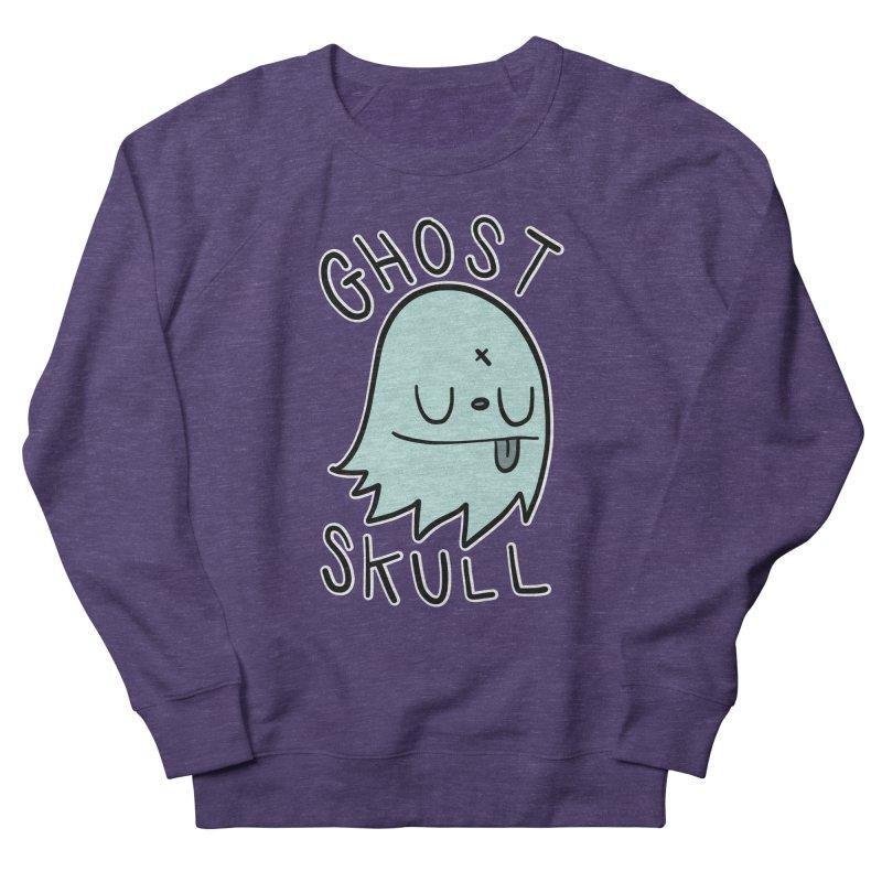 Ghost Skull Minty Fresh Men's French Terry Sweatshirt by Nicky Davis Threadless Shop