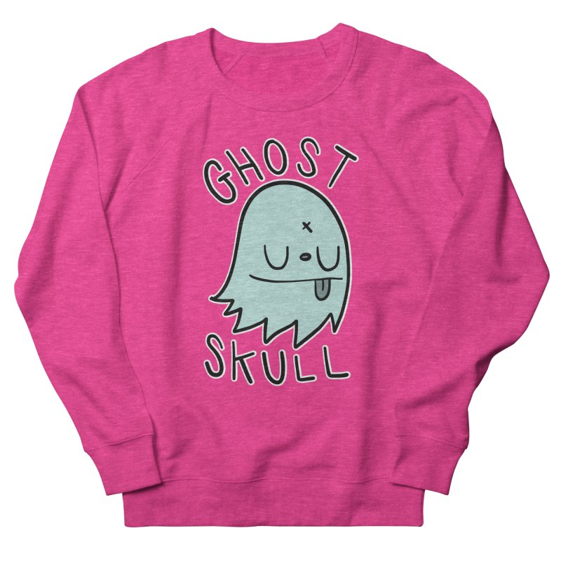 Ghost Skull Minty Fresh Men's French Terry Sweatshirt by Nicky Davis Threadless Shop