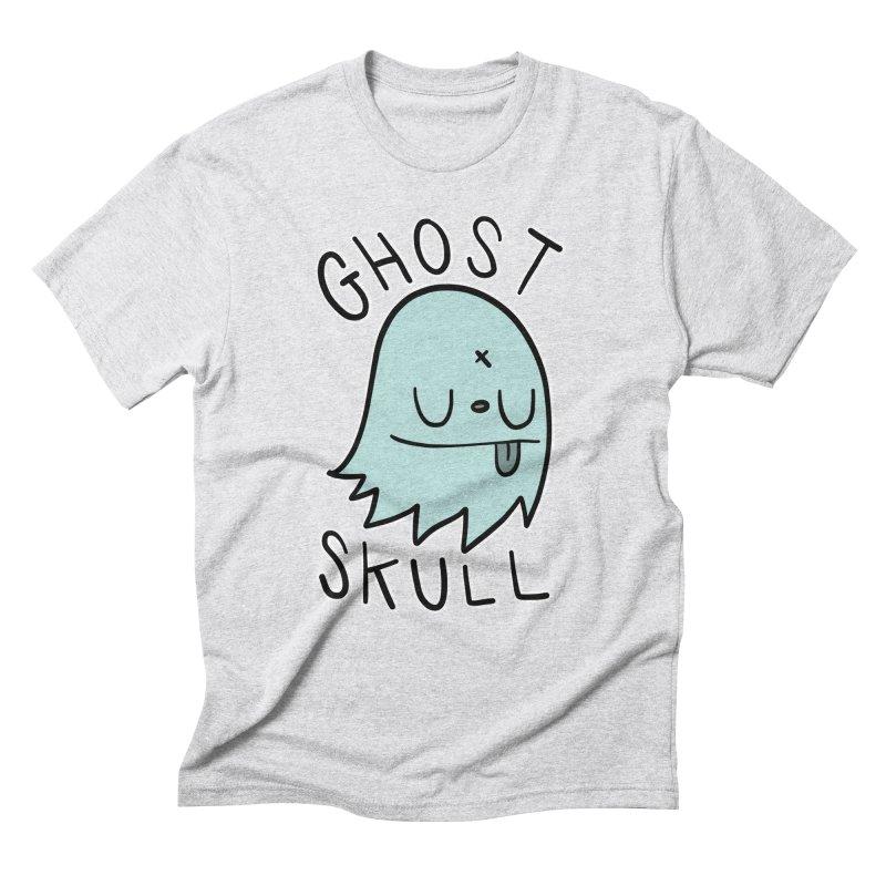 Ghost Skull Minty Fresh Men's Triblend T-Shirt by Nicky Davis Threadless Shop
