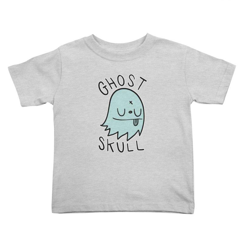 Ghost Skull Minty Fresh Kids Toddler T-Shirt by Nicky Davis Threadless Shop