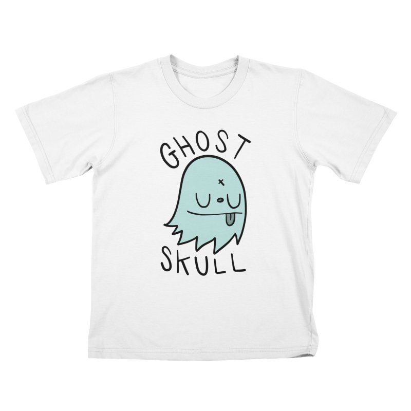 Ghost Skull Minty Fresh Kids T-Shirt by Nicky Davis Threadless Shop