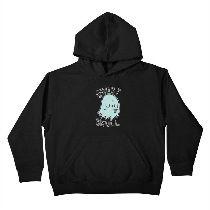 Ghost Skull Minty Fresh Kids Pullover Hoody by Nicky Davis Threadless Shop