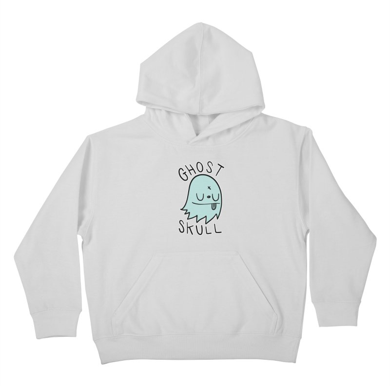 Ghost Skull Minty Fresh Kids Pullover Hoody by Nicky Davis Threadless Shop