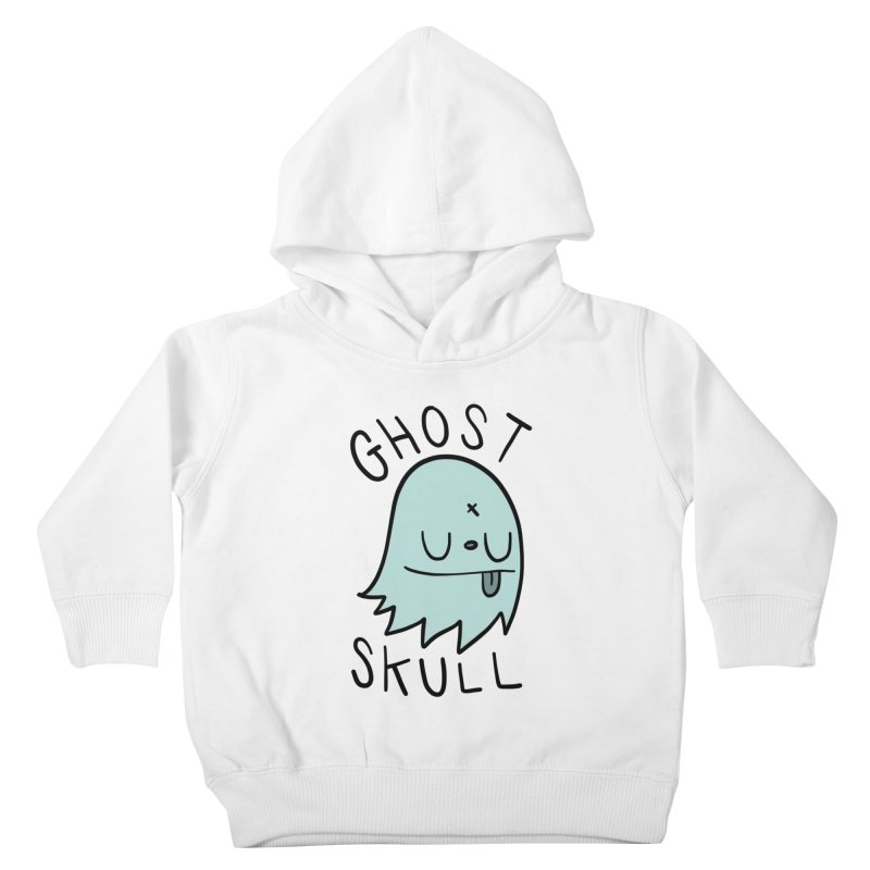 Ghost Skull Minty Fresh Kids Toddler Pullover Hoody by Nicky Davis Threadless Shop