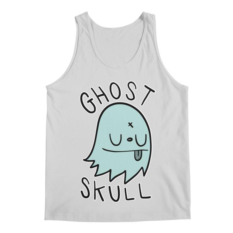 Ghost Skull Minty Fresh Men's Regular Tank by Nicky Davis Threadless Shop