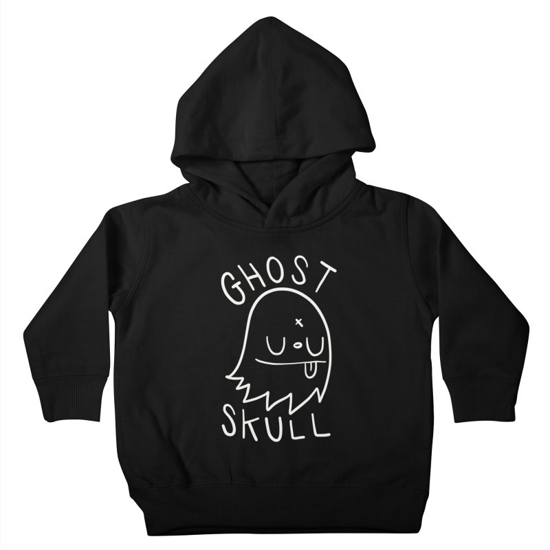 Ghost Skull White Kids Toddler Pullover Hoody by Nicky Davis Threadless Shop