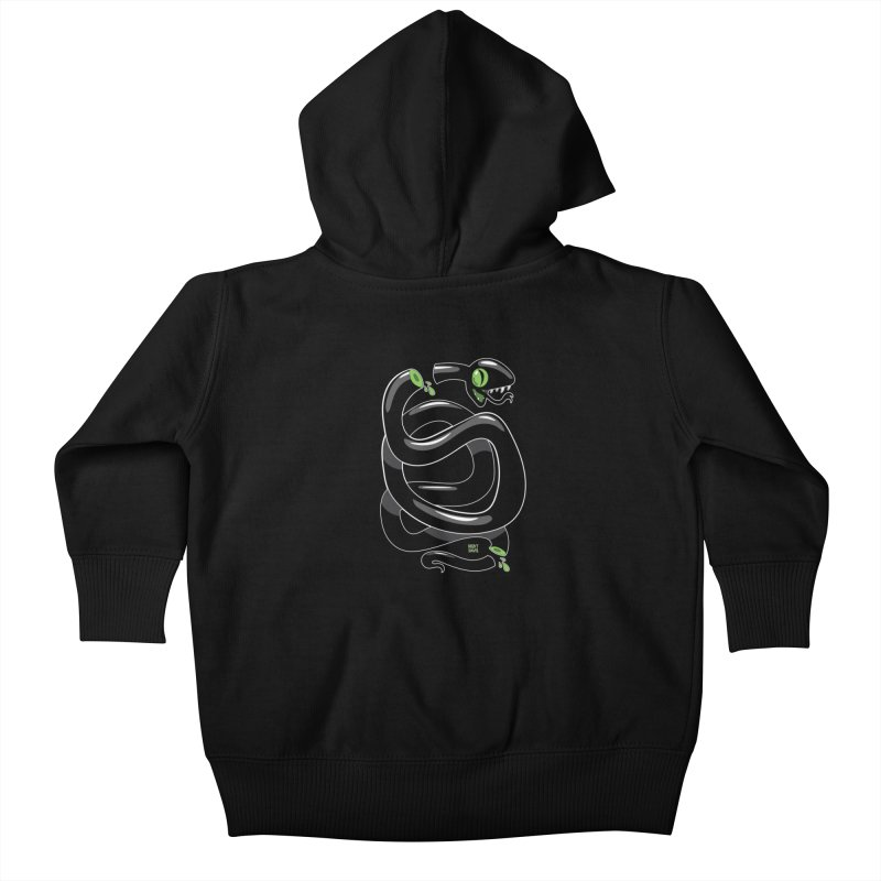 Chopped Snake Kids Baby Zip-Up Hoody by Nicky Davis Threadless Shop