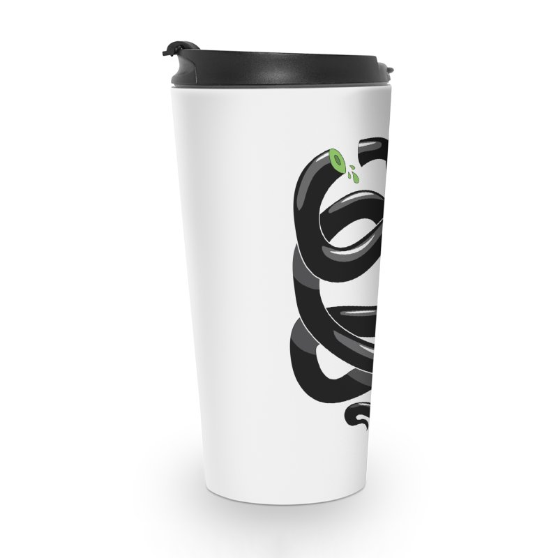 Chopped Snake Accessories Travel Mug by Nicky Davis Threadless Shop