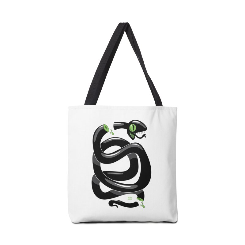 Chopped Snake Accessories Bag by Nicky Davis Threadless Shop